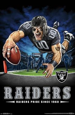OAKLAND RAIDERS - END ZONE 17