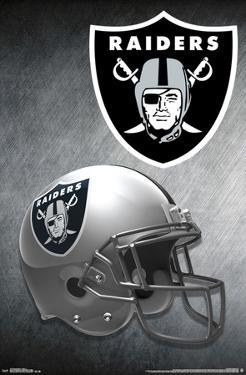 OAKLAND RAIDERS - HELMET 15
