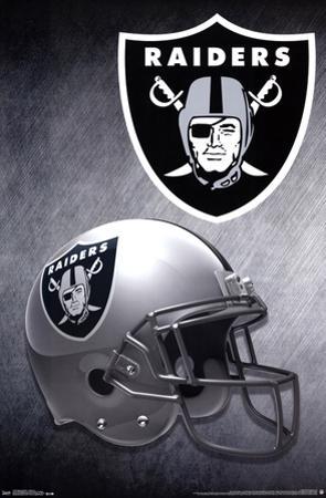 Oakland Raiders- Helmet 2015