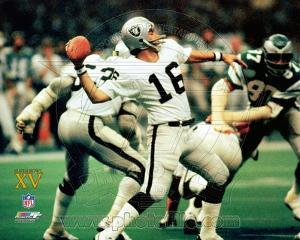 Oakland Raiders - Jim Plunkett Photo