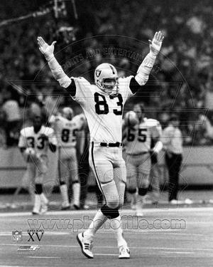 Oakland Raiders - Ted Hendricks Photo