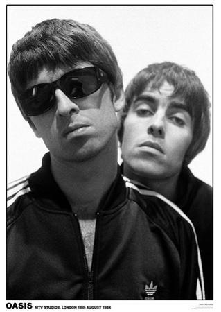 Oasis MTV Studios 1994 Music Poster Print