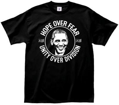 Obama- Hope Over Fear Button