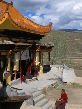 A Tibetan Nunnery at Garze, Sichuan Province, China by Occidor Ltd