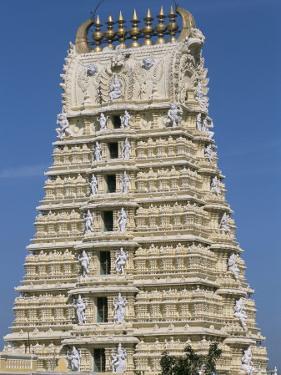 Chamundeswara Temple, Chamundi Hills, Mysore, Karnataka, India by Occidor Ltd