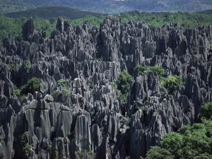 Limestone Stone Forest, Near Kunming, Yunnan Province, China by Occidor Ltd