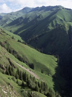 Near Narat, Tianshan (Tian Shan) Mountains, Xinjiang, China by Occidor Ltd