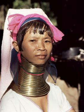 Paduang Woman (Long-Necked People) (Long-Necked Karen), Thai/Burma Border Thailand by Occidor Ltd