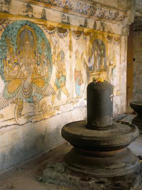 Shiva Lingam in 10th Century Temple of Sri Brihadeswara, Thanjavur, India by Occidor Ltd
