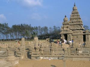 Shore Temple at Mahabalipuram, Unesco World Heritage Site, Chennai, Tamil Nadu, India by Occidor Ltd