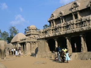 Shore Temple, Mahabalipuram, Unesco World Heritage Site, Chennai, Tamil Nadu, India by Occidor Ltd