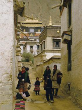 Tashilhunpo Monastery, Xigaze Town, Tibet, China by Occidor Ltd