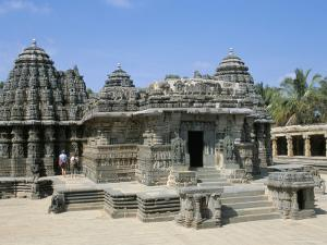 The 12th Century Keshava Temple, Mysore, Karnataka, India by Occidor Ltd