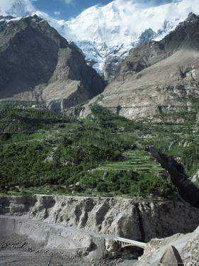 The Hunza Valley Near Karimabad, Pakistan by Occidor Ltd