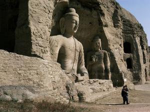 Yungang Buddhist Caves, Unesco World Heritage Site, Datong, Shanxi, China by Occidor Ltd