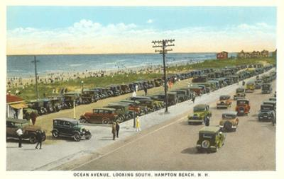 Ocean Avenue, Hampton Beach, New Hampshire