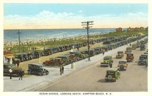Ocean Avenue, Hampton Beach, New Hampshire