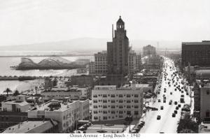 Ocean Avenue, Long Beach, 1940