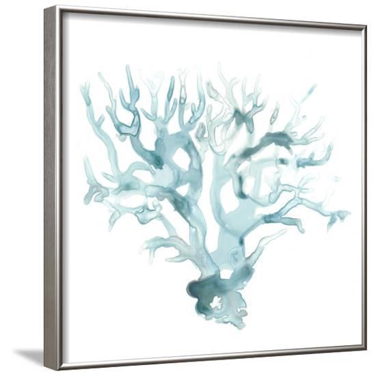 Ocean Cameo I--Framed Art Print