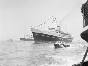Ocean Liner Andrea Doria Sailing