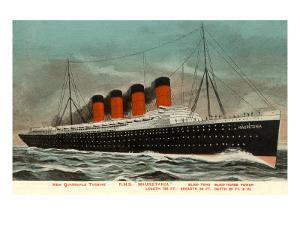 Ocean Liner RMS Mauretania
