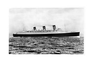 Ocean Liner RMS Queen Mary, 20th Century