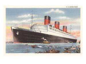 Ocean Liner SS Queen Mary