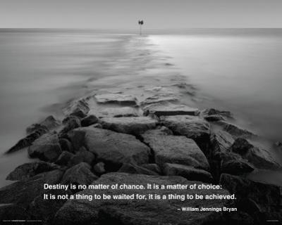 Ocean - Rocky Path Quote