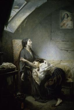 One Family's Unfortune with Suicide by Octave Tassaert