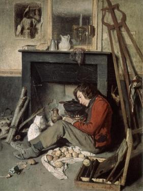 Studio Interior, 1845 by Octave Tassaert