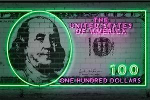 100 Dollars by Octavian Mielu