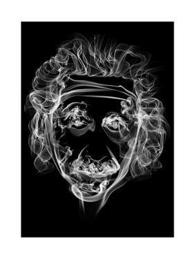 Albert Einstein 2 by Octavian Mielu