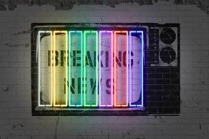 Breaking News by Octavian Mielu