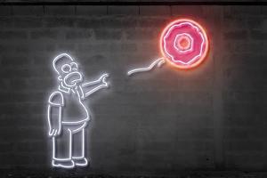Donut Balloon by Octavian Mielu