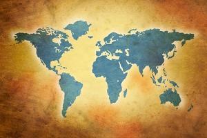 World Grunge Map by oculo