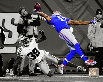 Odell Beckham 2014 Spotlight Action