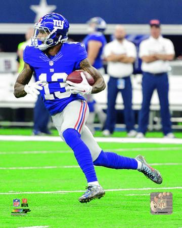 Odell Beckham 2016 Action