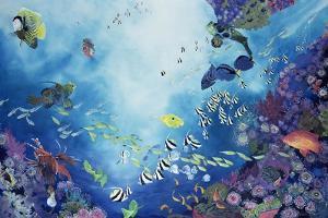 Underwater World III, 2002 by Odile Kidd