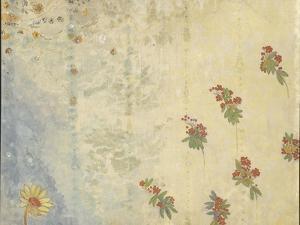 Décoration Domecy : marguerite et baies de sorbier by Odilon Redon