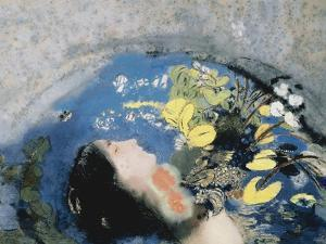 Drowning of Ophelia by Odilon Redon