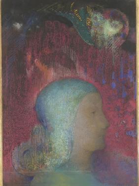 Jeanne d'Arc by Odilon Redon