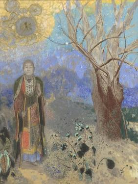 Le Bouddha by Odilon Redon