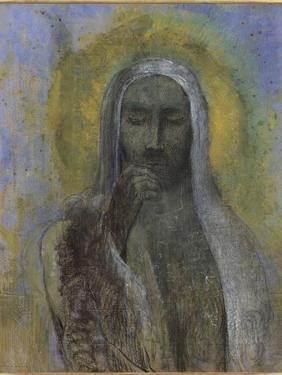 Le Christ du silence by Odilon Redon