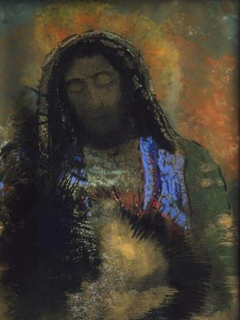 Sacred Heart, 1910 by Odilon Redon