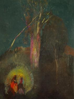 The Flight to Egypt by Odilon Redon