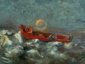 The Red Boat, 1905 by Odilon Redon