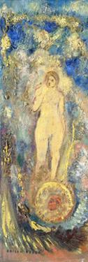 The Wheel of Fortune by Odilon Redon