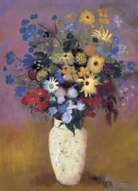Vase of Flowers, 1914 by Odilon Redon
