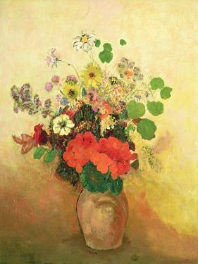 Vase of Flowers, C.1908-10 by Odilon Redon