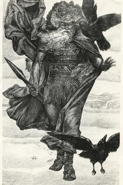 Odin and His Crows